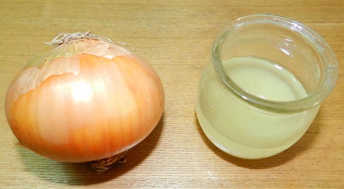Лук и луковый сок