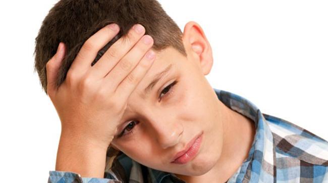 У мальчика головная боль