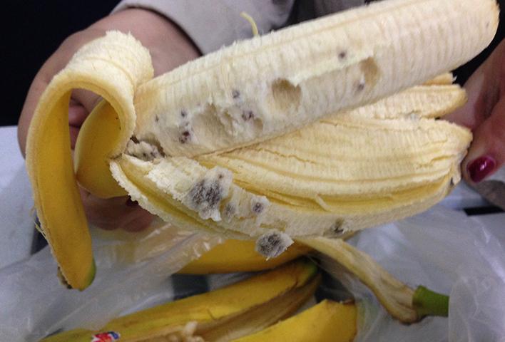 В банане паразиты